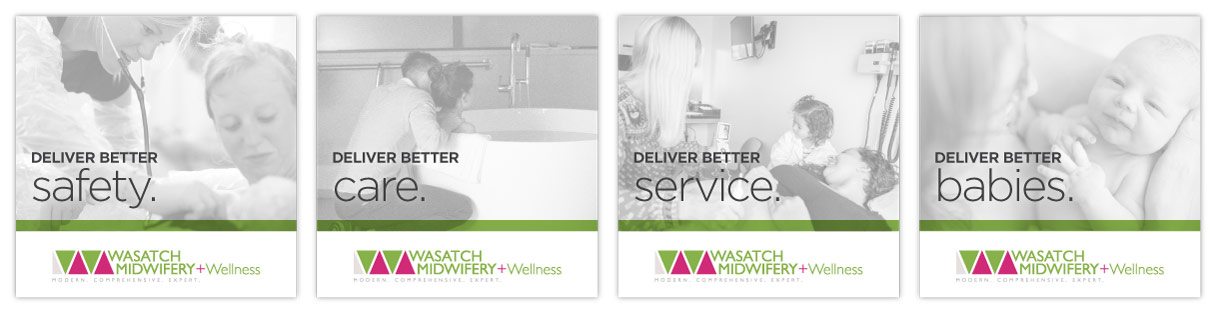 Wasatch Midwifery Social Advertising
