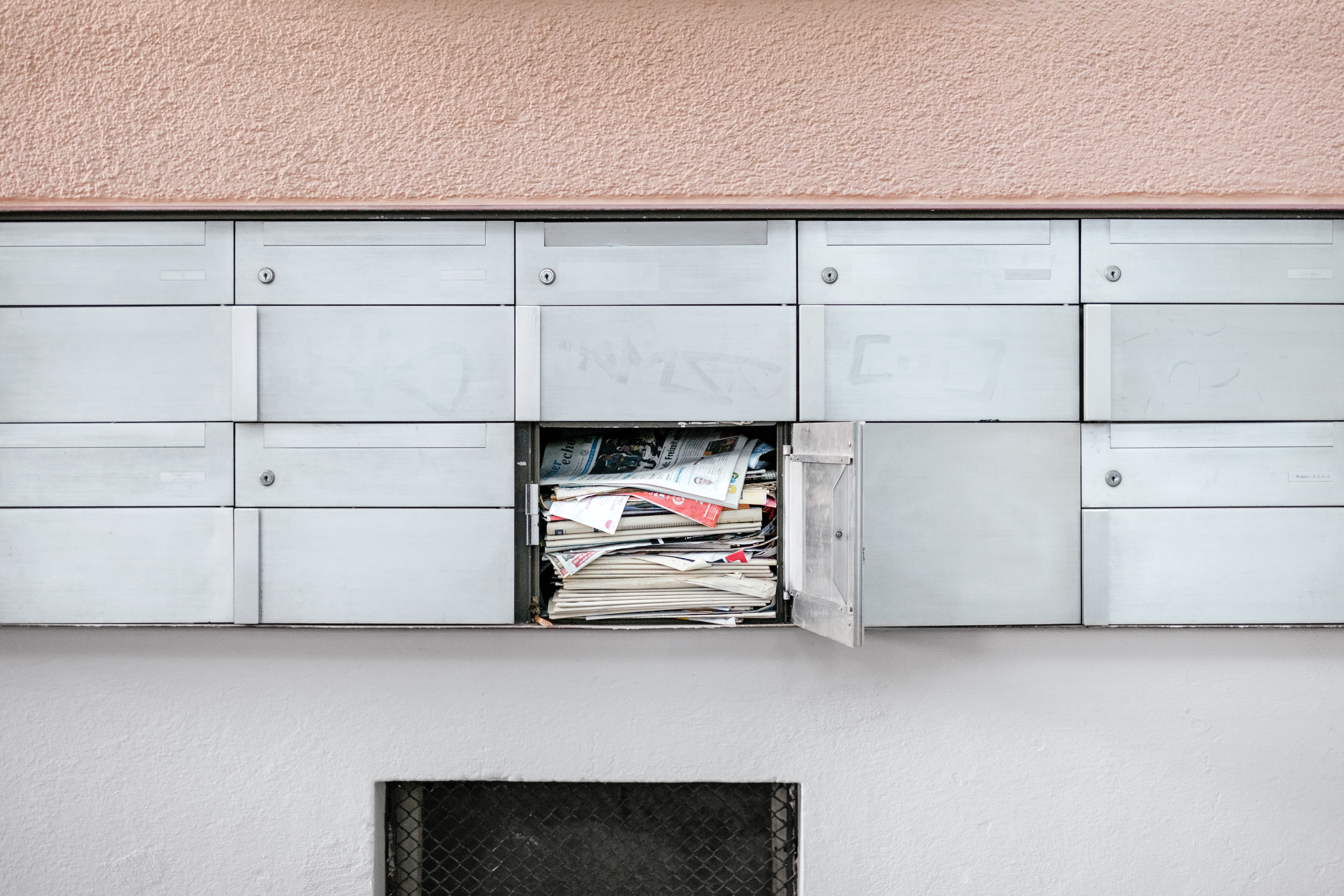 Letters in a direct mail campaign