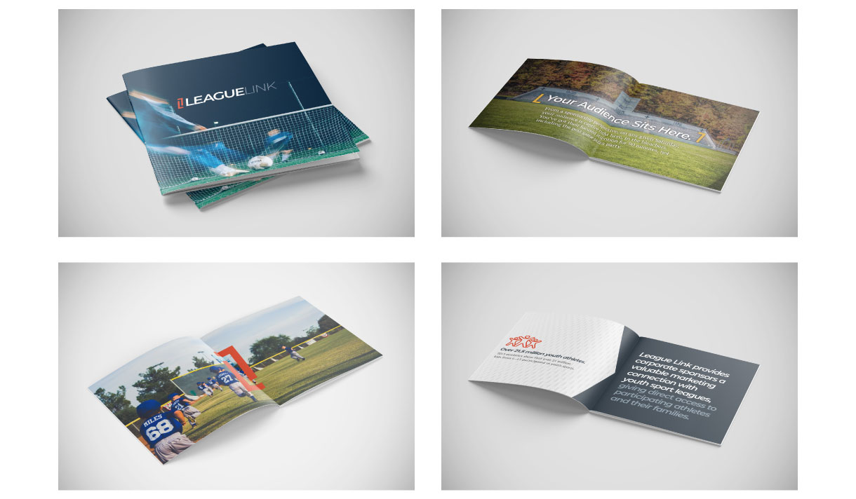 LeagueLink Brochure Collateral Design
